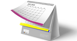wpg branded calendar