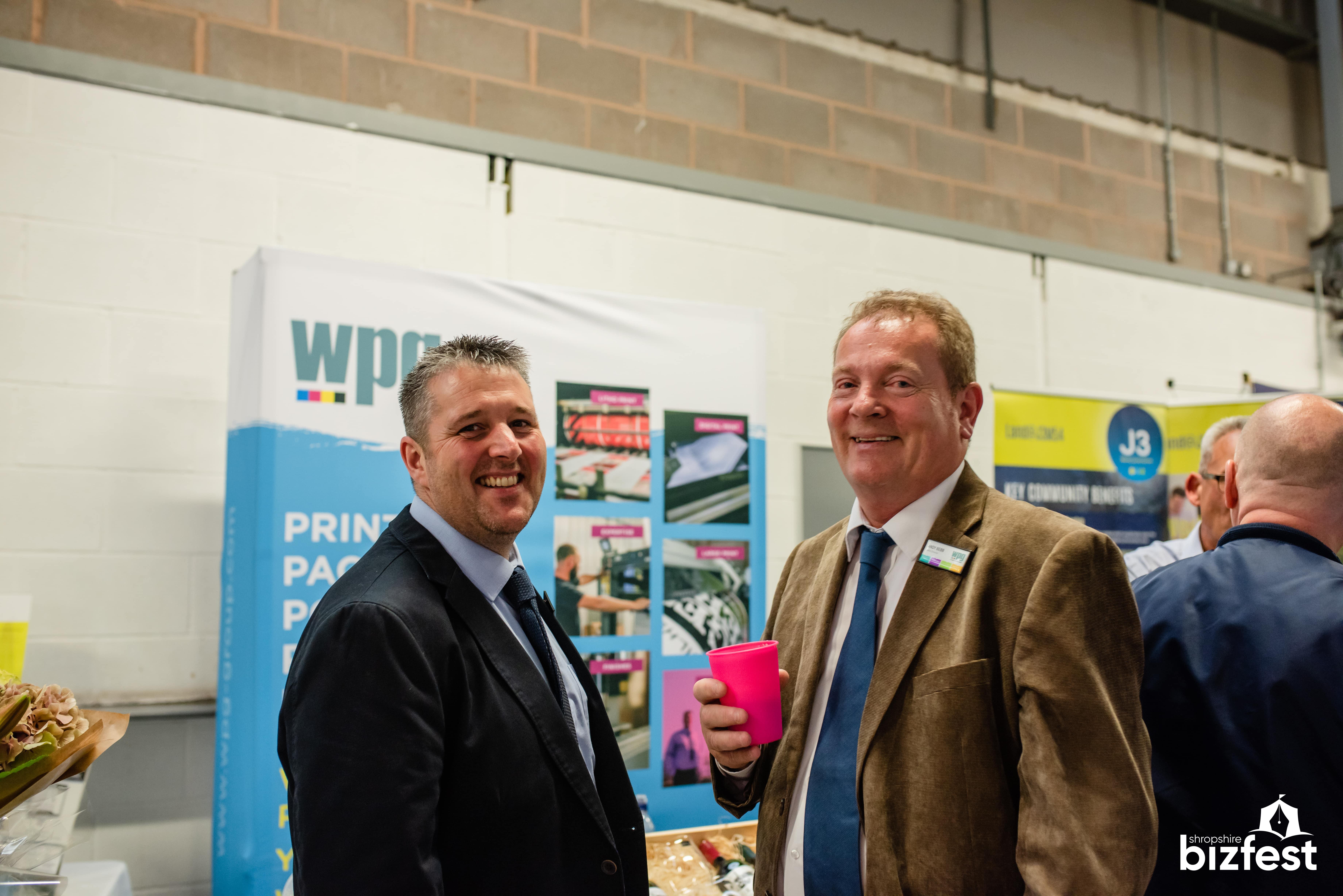 WPG named the official printing sponsor of Shropshire Bizfest 2019