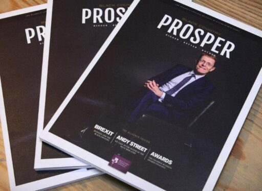 WPG print Prosper Magazine