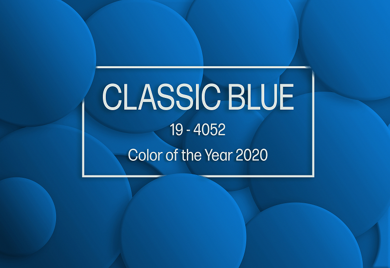 Pantone Colour of the Year –  PANTONE 19-4052 Classic Blue