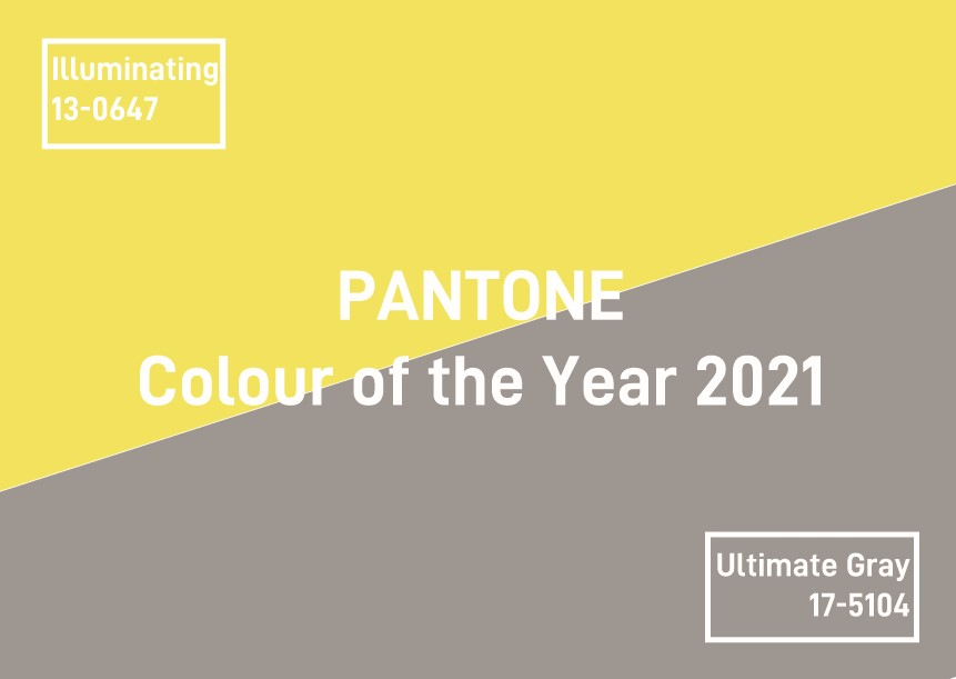 Pantone Colour of the Year 2021 – Illuminating & Ultimate Gray