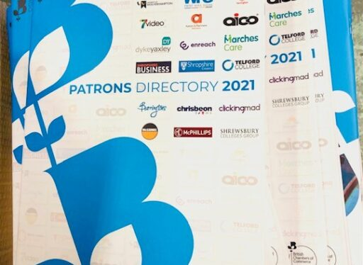 Dynamic businesses are profiled in Shropshire Chamber's The Patrons Directory