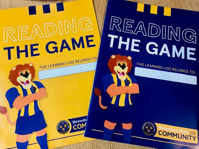 Goalkeeper Joe Hart urges pupils to write about Shropshire in Reading the Game