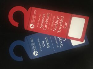 In Car Hangers designed and printed by WPG